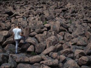 kamenné moře v Krušných horách